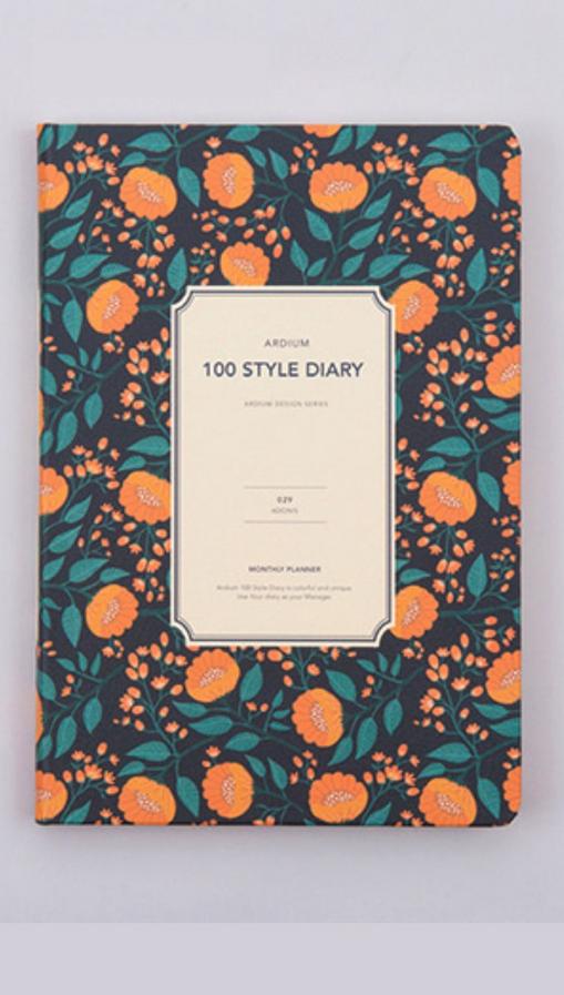 Cute Oranges PLanner BUllet Journal