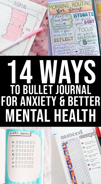 anxiety bullet journal