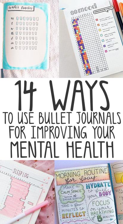 bullet journal for mental health