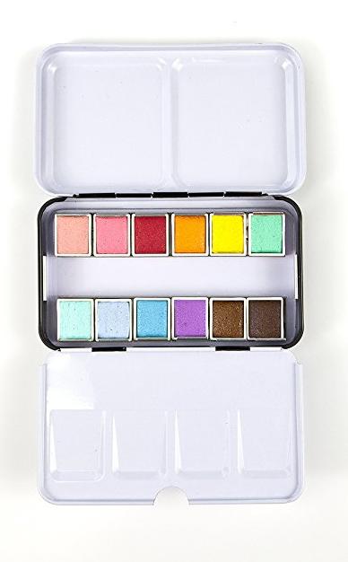mini watercolors stocking stuffer for journal lovers