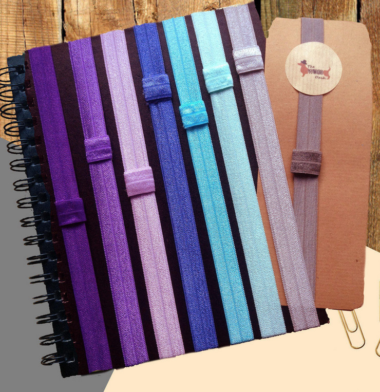 planner bookmark and pen holders
